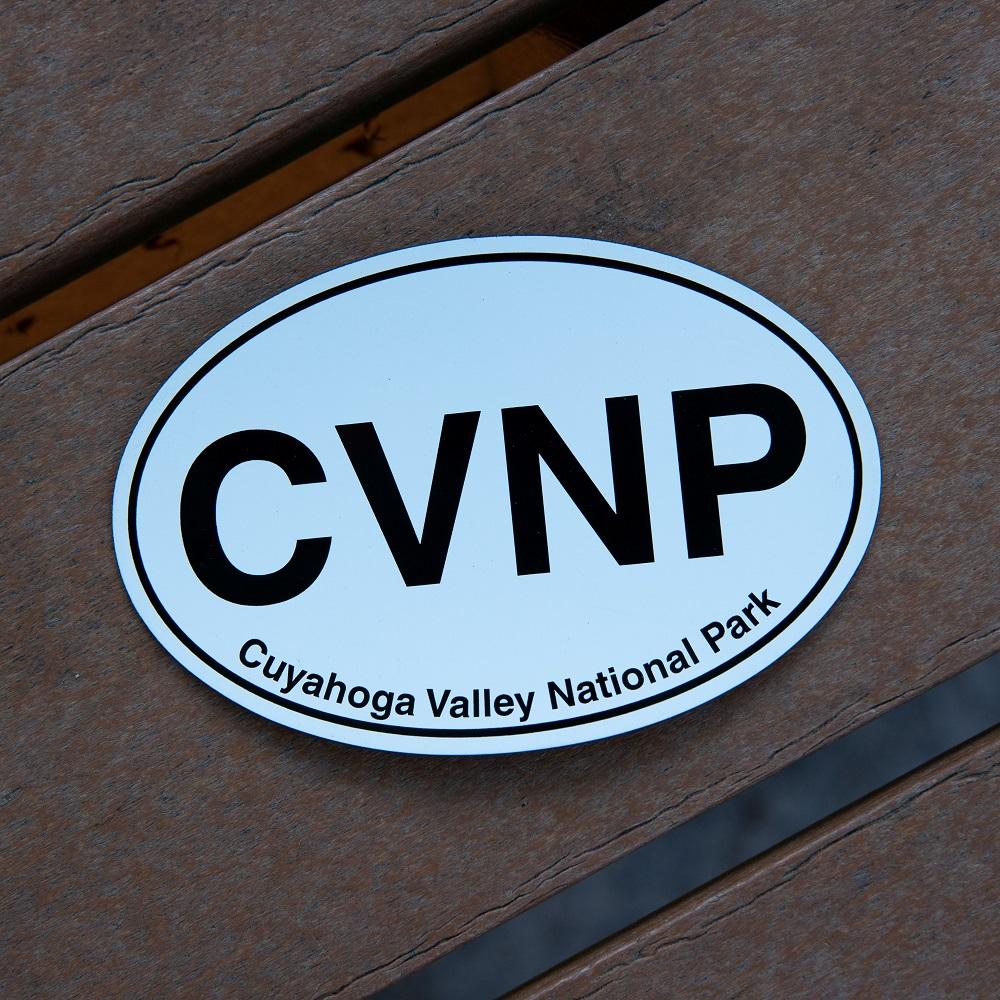 CVNP Oval Magnet