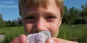 Kid at summer camp