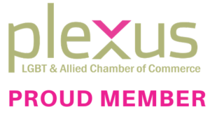 Plexus LGBT & Allied Chamber of Commerce Proud Member Logo