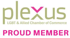 Plexus LGBT & Allied Chamber of Commerce Proud Member Logo