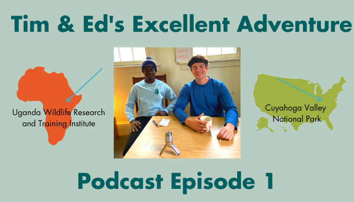 podcast graphic for Tim & Ed's Excellent Adventure