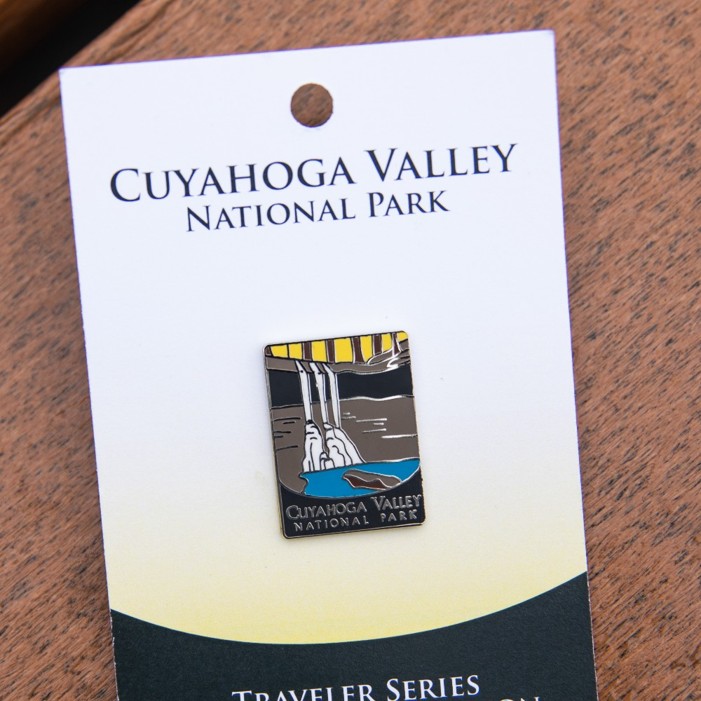 Cuyahoga Valley National Park Pin Official Traveler Series Ohio