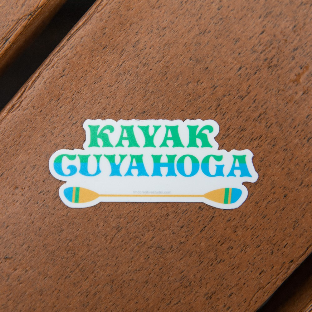 Kayak Cuyahoga Sticker