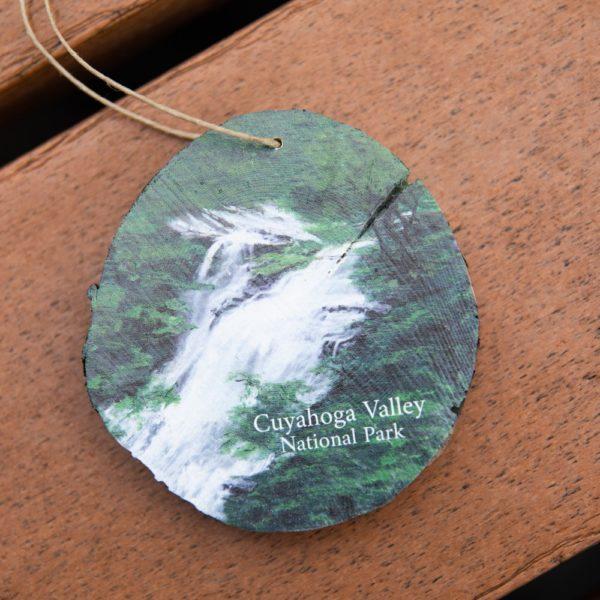 CVNP Wooden Brandywine Falls Ornament
