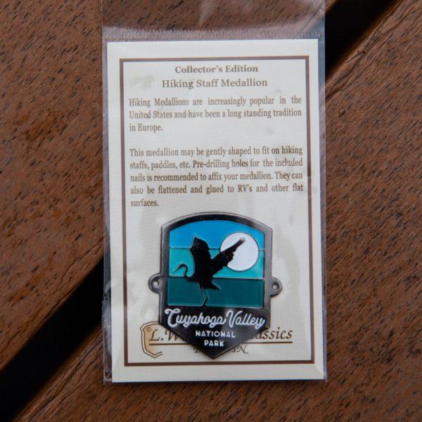 CVNP Heron Hiking Medallion
