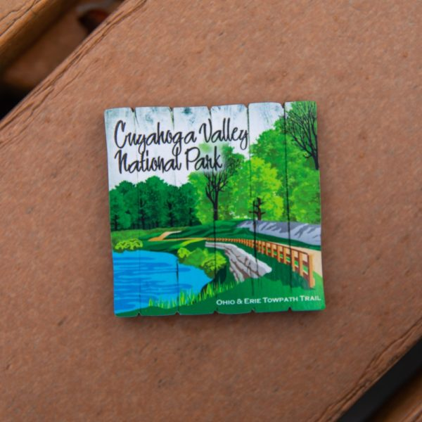 Towpath Plank Magnet