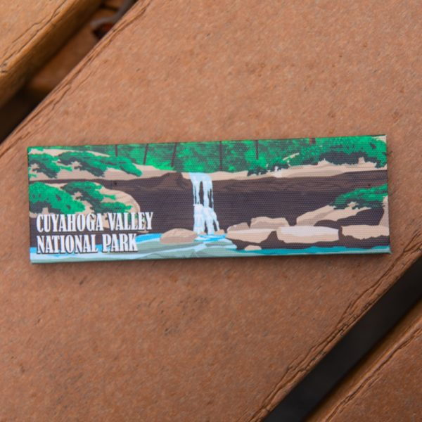 CVNP Blue Hen Falls Canvas Magnet