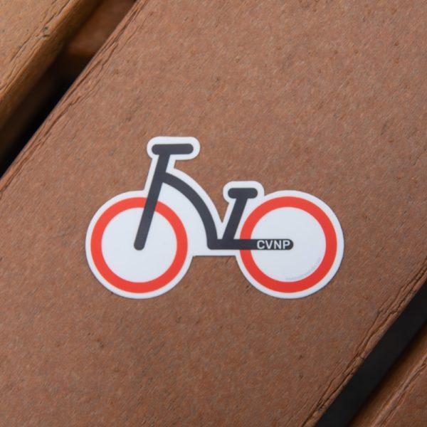 CVNP Bike Ohio Sticker