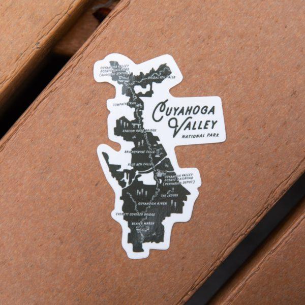 CVNP Map Sticker