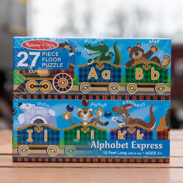 Melissa & Doug Alphabet Express Puzzle