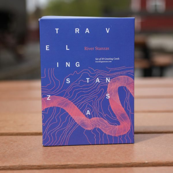 Traveling Stanzas Greeting Cards