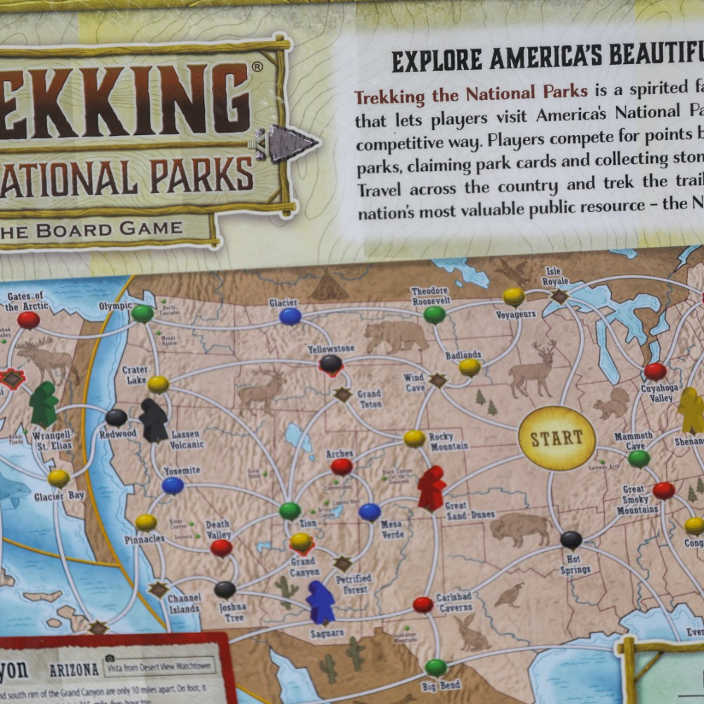 Trekking The National Parks Board Game Conservancy For Cuyahoga Valley National Park