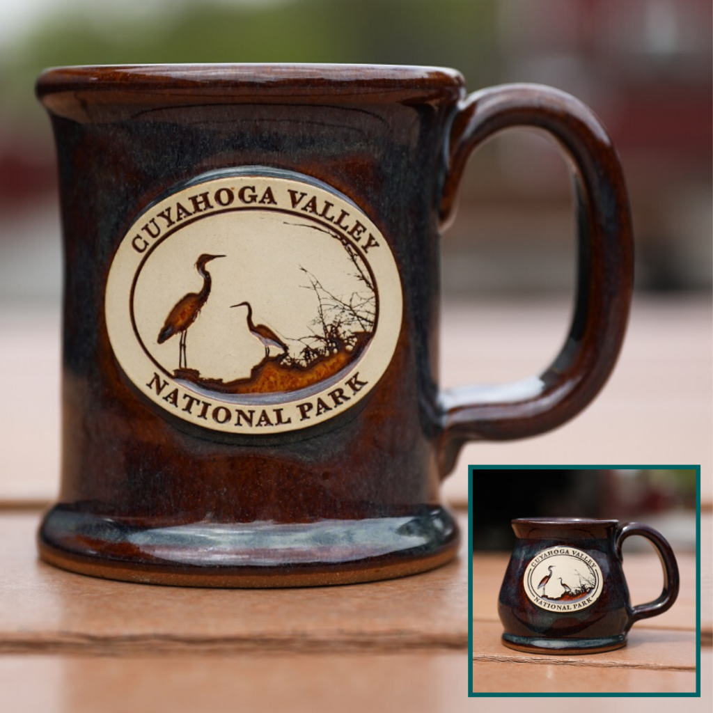 Heron mug in potbelly and executive style