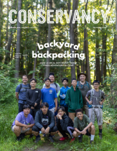 Cover of Summer 2020 Conservancy Members Magazine