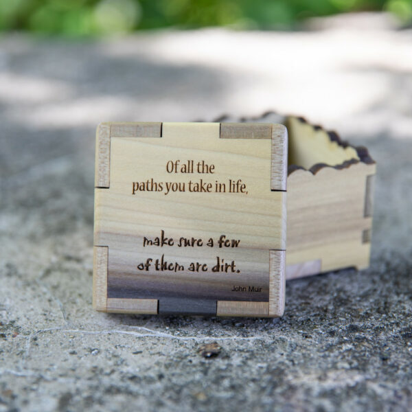 """WYTM Quote Box: """"Of all the paths you take..."""""""