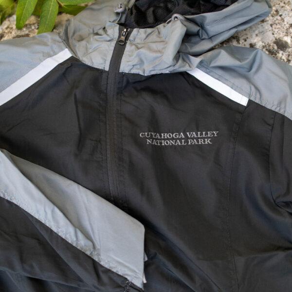 Men's Reflective Trim Jacket Black