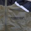 Men's Reflective Trim Jacket Olive Logo