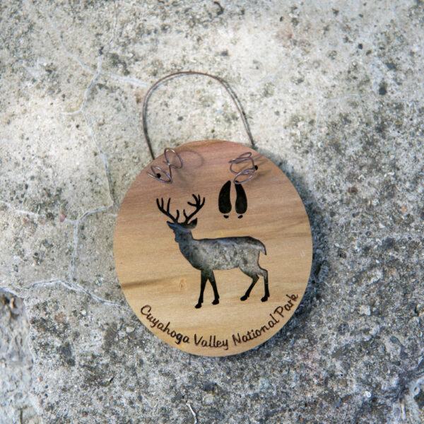 WYTM Deer Ornament