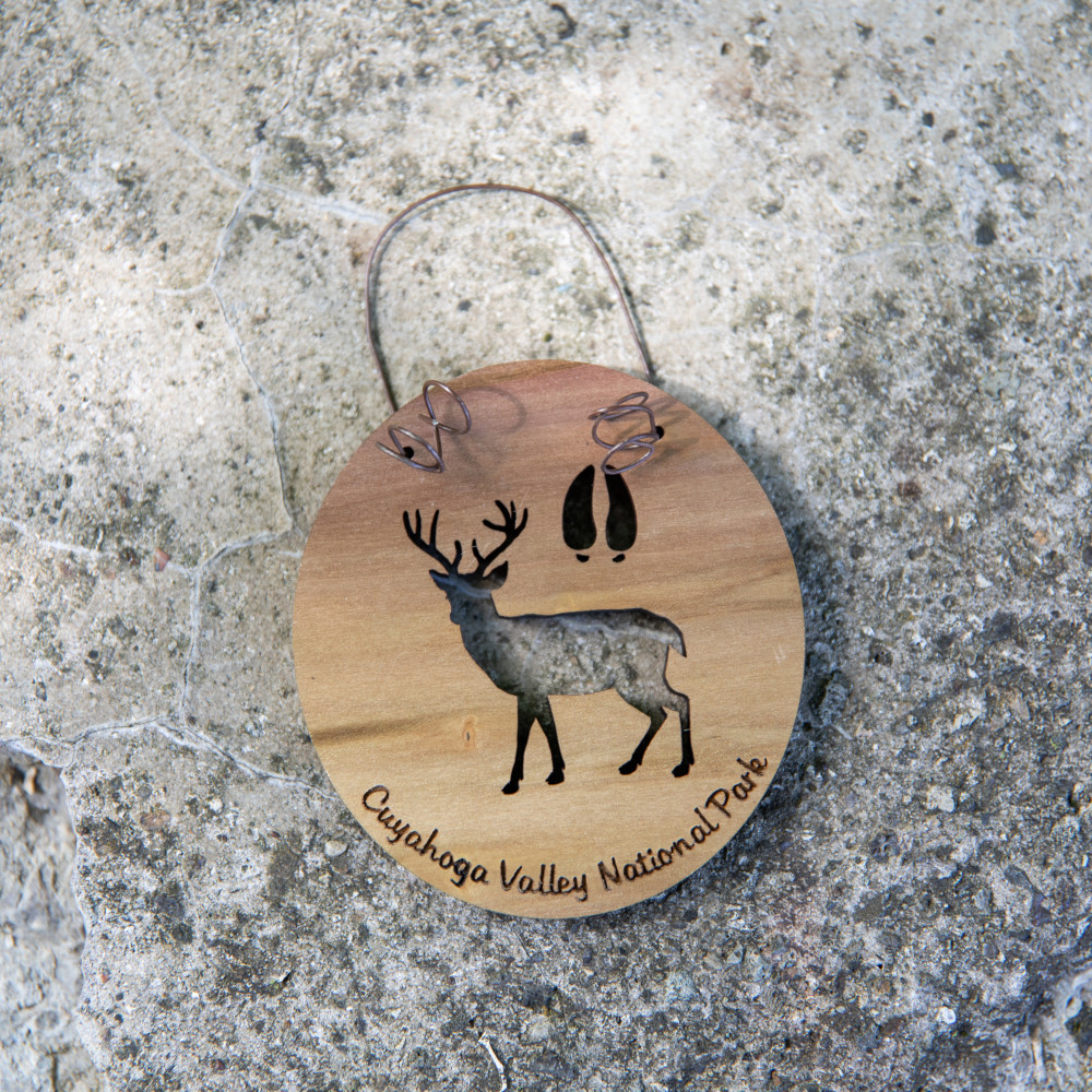 WYTM Deer Ornament