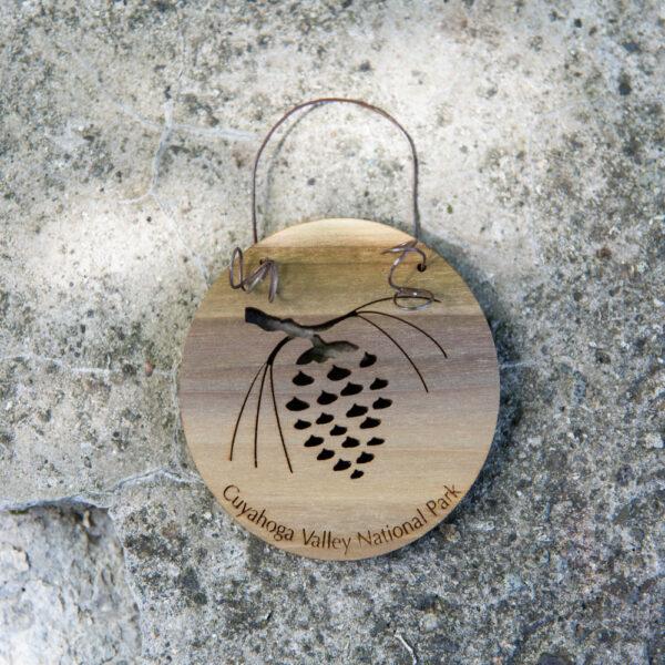 WYTM Pine Cone Ornament