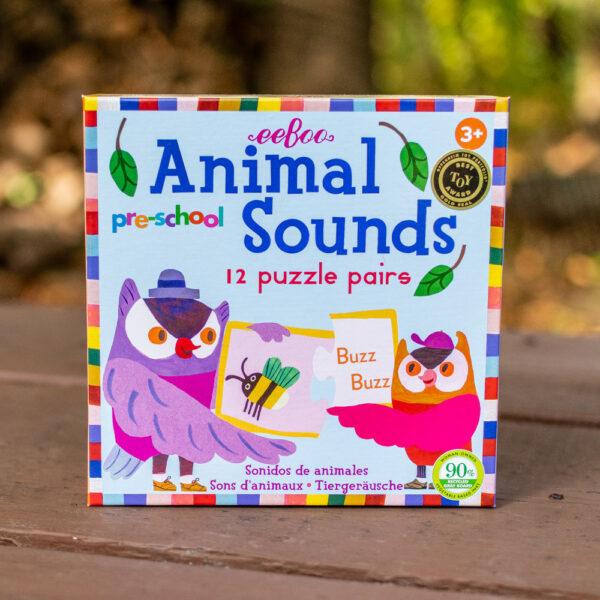 Pre-School Animal Sounds Puzzle Pairs