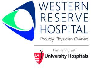 Western Reserve Hospital + University Hospital logo