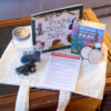 Park Pack 'creature comforts' with book, game, crafts and activities