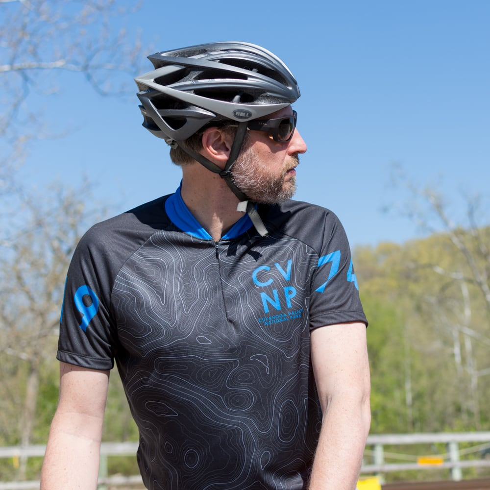 Topographic Cycling Jersey