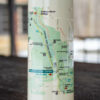 CVNP Double Wall Map Waterbottle (close)