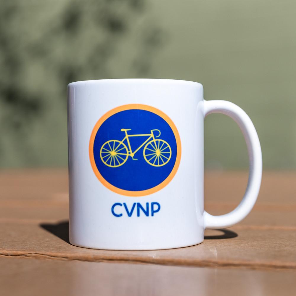 Merit Badge Bike Mug